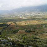 Tal vor Burg Aguilar