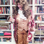 Dr. Cornelia Mohrmann mit ihren Historien-Romanen