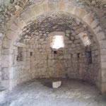 Kapelle auf Burg Aguilar - Apsis
