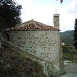 Kapelle unterhalb der Burg von Padern - Apsis