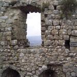 Wohngebäude mit Saal auf Burg Aguilar