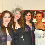 Sandra, Ricarda, Jenny, Steffi