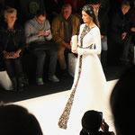 Fashion Show / Anja Gockel / Model Rebecca Mir