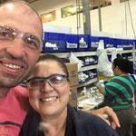 Marta responsable secteur plomberie sur l'usine Watkins