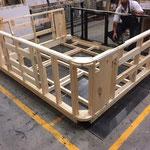 Montage des chassis bois série Utopia