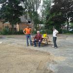 Foto W.D.Ralf,Hans und Frank sind geschafft
