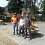 Foto W.D.Frank, Hans und Willi sind stolz