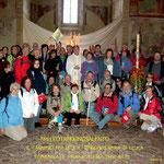 Brindisi - Gruppo pellegrini alla partenza per Leuca  | Ezio Sarcinella