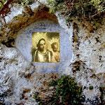 Icona Madonna di Leuca all'inizio  canale del Ciolo  | Ezio Sarcinella