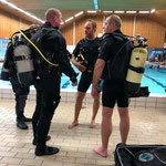 Drysuit Pool session