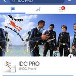 IDC PRO op Facebook