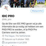 IDC PRO op Twitter