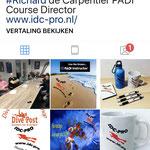 IDC PRO op Instagram