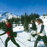 Nordic Walking unterhalb der Alpspitze