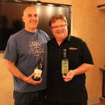 クレイハウス オーナー ブレイク・カーン(左・ワインメーカー)、デヴィッド・ハンス(マーケティングディレクター)