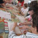 Atelier recyclage pour loto inter-établissements