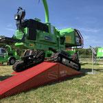 Greenmech Sure Trak mit den beweglichen Raupen. Noch sicherer im Gelände fahren.