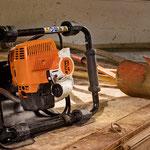 Stihl Erdbohrgeräte und Bohrwerkzeuge mit besonderen Sicherheitseinrichtungen