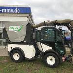 Der Multihog CL55 mit dem City Vac System an unserem Standort MMV Bremen
