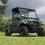Die Mule MX als 4WD Geländtransporter für Baumschulen und Agrarbetriebe
