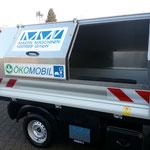 Die seitliche Einfüllöffnung für den Müllaufbau bekommt man auf Wunsch auch auf der linken Seite bei MMV in Bad Zwischenahn.