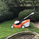 Stihl RMA 448 TC Akkurasenmäher - der gleiche Akku für alle Gartengeräte