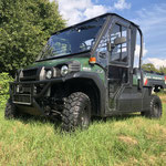 Mule Pro-DX Diesel mit Kabine und Heizung, Allrad, Dieselmotor und Zulassung, Gebrauchtfahrzeug