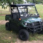 Mule MX mit Halbkabine udn Straßenzulassung, Allradantrieb Geländetransporter
