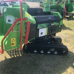 Greenmech QuadTrak 160 - Drehbarer Häcksler auf Raupenfahrwerk - kompakt und leistungsstark.