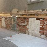 Sanierung feuchter Sockelbereiche