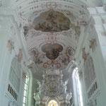 Chor Ave Maria nach Fertigstellung