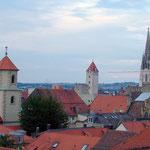 Regensburg: Blick von der Sternwarte