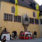 Regensburg: Rathaus, Papstbesuch
