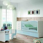 Cuna convertible en cama una combinación de colores y combinaciones únicas con las que podrás diseñar y decorar la habitación de tu bebé
