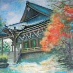 書写円教寺と紅葉