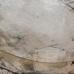 "Bild ""Rivolo"", Größe 180 x 80 cm, Acryl, Sand, Steinmehl auf Leinwand"