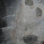 "Bild ""Soft Touch,"" Größe 60 x 70 cm, Acryl, Kohle, Steinmehl auf Leinwand"