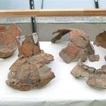Zustand der Objekte vor der Neukonservierung (LDASA, 2013)
