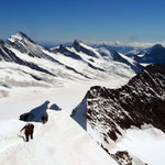 Aussicht Richtung Ewig Schneefäld