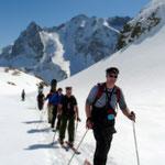 Aufstieg zur Stuttgarterhütte