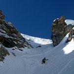Gipfelcouloir Valluga