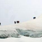 Gipfelgrat Piz Palü