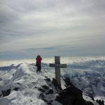 Gipfelkreuz Finsteraarhorn