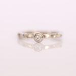 Verlobungsring mit Diamant Foto Stella Schlatte