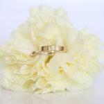 Eheringe 14 kt Gelbgold mit Fingerabdruck Fotos Stella Schlatte