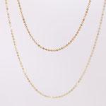 14 kt und 18 kt Goldketten in verschiedenen Längen für Anhänger erhältlich Foto Stella Schlatte