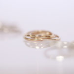 Ringe ineinander verschlungen Foto Stella Schlatte