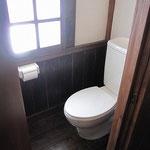 自家水道ではありますが、水洗トイレです。