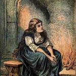 Illustration d'une édition de 1865 de Cendrillon