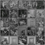"Montage de photogrammes de la version ""hollywwood"" de Cendrillon avec Mary Pickford. James Kirckwood en fut le metteur en scène."